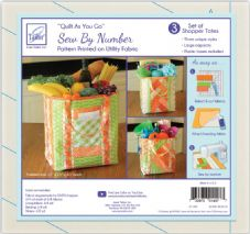 JT1497 Quilt as you go - Shopper tote bag wadding